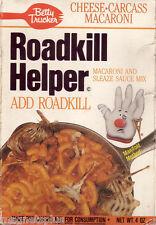 HUMOROUS ROADKILL HELPER  FRIDGE   MAGNET