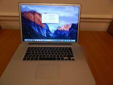 """Apple MacBook Pro 17"""" Ordinateur Portable - 2.66 GHz – 8 Go - 500 Go-Début 2009"""