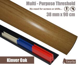 Kinver Oak Multi-Purpose Threshold Strip 38mm x 90cm Multi-Height&Pivot