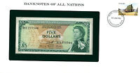 East Caribbean States ..  P-14h … 5 Dollars … ND(1965) … *UNC*