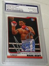 Mark Hunt Signed 2003 Epoch K-1 Grand Prix Card #24 PSA/DNA COA UFC Pride Auto'd