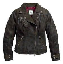 REDUCED! Harley Davidson Women's Haunt Leather Jacket 97164-17VW Small, RRP £459