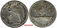 Bolivia Silver 1830 PTS JL Sol EF-AU Condition Better Type SCARCE KM# 94a