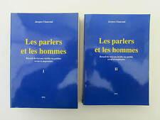 Chaurand J. Les Parlers et les Hommes 1 & 2 Thiérache, Laon, Chrétien de Troyes