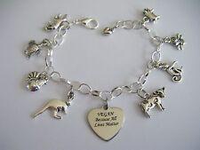 VEGAN Because All Lives Matter Charm Bracelet Cruelty Free Promoting Veganism