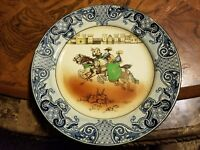 Antique Royal Doulton  - Burslem - Falconry Series Plate D3696 c.1913 10.5in