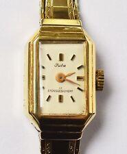 Juta Damenuhr Armbanduhr 14 Karat 585 Gold Golduhr 13 g Handaufzug um 1930/1940