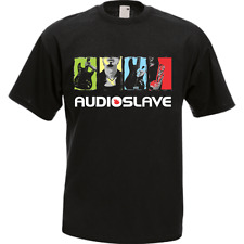Audioslave Music Rock Band Black Men's T-Shirt Tee