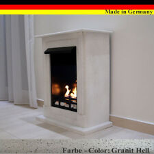 Ethanol Firegel Cheminee Camino Madrid Premium Granit gris +21 pièces ensemble