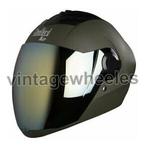 Steelbird Air SBA-2 Full Face Helmet Safe Stylish Green Motorbikes & Scooters