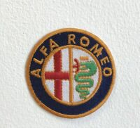 Alfa Romeo Automobiles Motorsports logo Iron Sew on Embroidered Patch