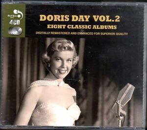 Doris Day Vol. 2~Eight Classic Albums~4 CD Box SET~Very Good Cond.~Fast Ship