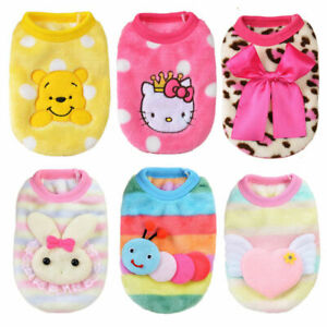6PCS Size XXXS XXS X Small Girl Female Dog Clothes for Cat Toy Puppy Chihuahua