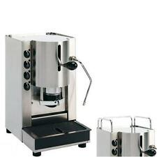 MACCHINA CAFFE CIALDE CARTA 44MM SPINEL PINOCCHIO VAPORE ACCIAIO INOX + OMAGGIO