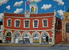 TOWN HALL RYE OPEN EDITION PRINT BY MICHAEL PRESTON