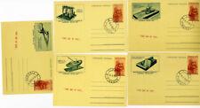 Italy Leonardo Da Vinci Stamps # C152A FDC 5 Different Vignettes
