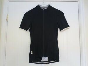 Rapha Women's Short Sleeve Souplesse Black Cycling Jersey - Size XS