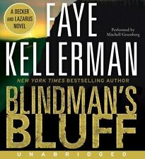 BLINDMAN'S BLUFF BY FAYE KELLERMAN - GREAT AUDIO W/ FREE SHIPPING