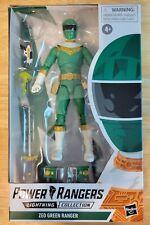 "Power Rangers Lightning Collection. Zeo Green Ranger 6"" Action Figure"