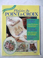 Magazine Plaisirs du point de croix La parade des ustensiles  /V31