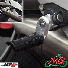 Triumph Daytona 600i 2004 Vario 30mm Adjustable Front Footrests Foot Peg