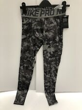 NEW Nike Dri Fit Pro Hypercool Pixel Camo full length Tights Size small
