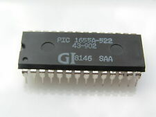 General Instrument PIC 1655A-522 Micro Computer Chip Circa 1981 OM0077