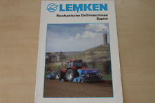 158073) Lemken Drillmaschine Saphir Prospekt 08/2010