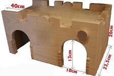 Betten, Hängematten & Nester aus Holz für Hamster