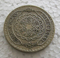 SYRIA - SILVER 50 PIASTRE 1929 KM# 74 - NICE COIN