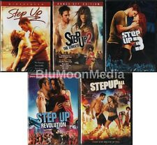 Step Up DVD 1 2 3 4 5 Complete Collection Lot All In Revolution 5 Disc Set NEW