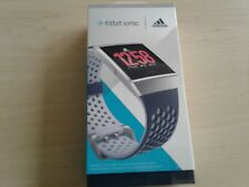 *NEW SEALED*  Fitbit FB503WTNV Ionic Adidas Edition Smartwatch