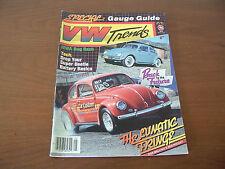 VW Trends Magazine May 1986 IVWA Bug Bash Don Melling's Red Rocket