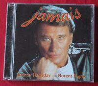 Johnny Hallyday - Florent Pagny, bienvenue chez moi, CD rare pochette