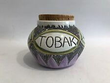 Laholm Sweden 50er 60er Jahre Design Tabakdose Topf Tin Tabac Box 60s 50s Tobak