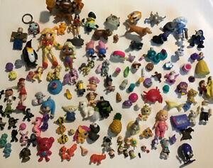 Junk Drawer Lot 120 + Mixed Toys Treasure Box Prize Box PVC Figures Disney