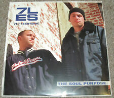 7L&ESOTERIC-The Soul Purpose~ORIG.'01 SEALED 2LP~INSPECTAH DECK~JEDI MIND TRICKS