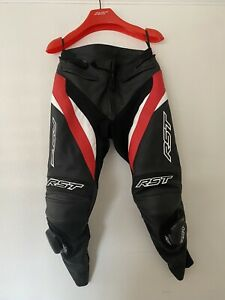 RST tractech Evo 4 Leather Jeans Black/red/white.  Medium (32)