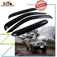 Window Visor Wind Deflector Guard Weathershield for Toyota Hilux 166 Ute 95-2004