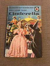 Very Nice Vintage Ladybird 'Well Loved Tales CINDERELLA Matt BOOK 606D.