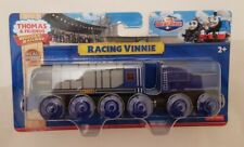 Thomas The Tank Engine & Friends WOOD RACING VINNIE WOODEN NEW IN BOX
