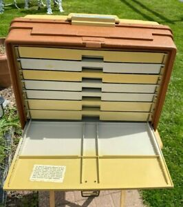 Vintage Plano 777 Tackle Box with 7 Drawers