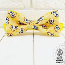 Sponge Bob Bow tie, Yellow bowtie, Cartoons