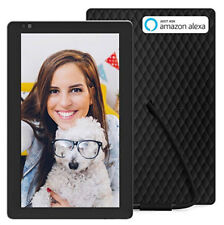 Digital Photo Frame, Nixplay Seed 10.1 Inch Widescreen WiFi with Alexa