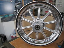 "Harley Davidson 10 Spoke 16"" 16x3"" Front Wheel Kit 2005 FLSTNI Softail 40720-05"