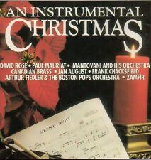 An Instrumental Christmas - CD - Zamfir, David Rose, Paul Mauriat & More RARE