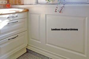 Landhaus Wandvertäfelung, Baukastensystem (Kleinteile nur für Paketversand)