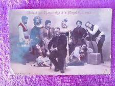POSTAL FOTOGRAFIA, RECORD DEL HOMENATGE A ANGEL GUIMERA 1915 (14X9)