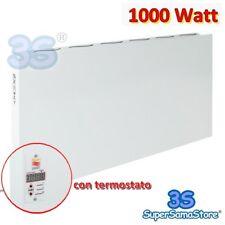 3S PANNELLO CONVETTORE ELETTRICO RADIANTE INFRAROSSI 1000 WATT + CRONOTERMOSTATO