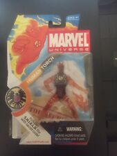 Marvel Universe HUMAN TORCH (FLAME ON) series 1 figure #007 BRAND NEW.